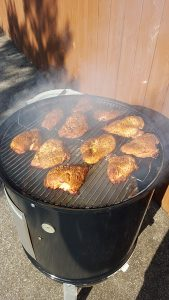 Chicken Breasts On The Smoker